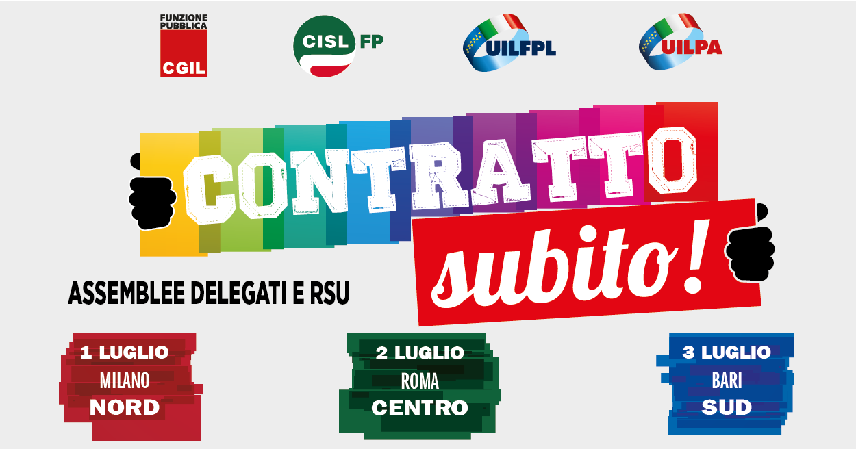 Uilfpl basilicata pa cgil cisl uil continua la for Contratto 3 2